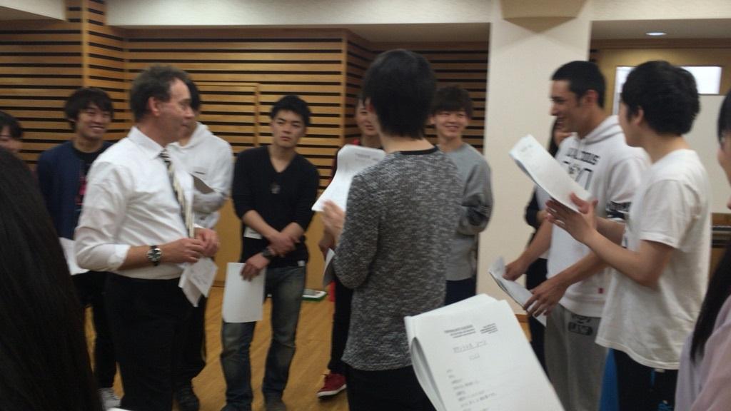 海外講師を招いての演技特別講義!アクターインターナショナルプログラム!