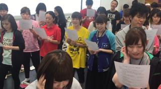 骨髄移植推進キャンペーンミュージカル『明日への扉』2016稽古本格スタート!