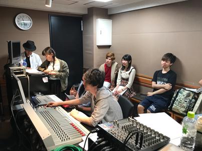 声優コース🎤|ラジオドラマ制作授業の様子📷✨