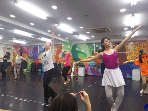 明日への扉 ~ダンスの稽古シーン~