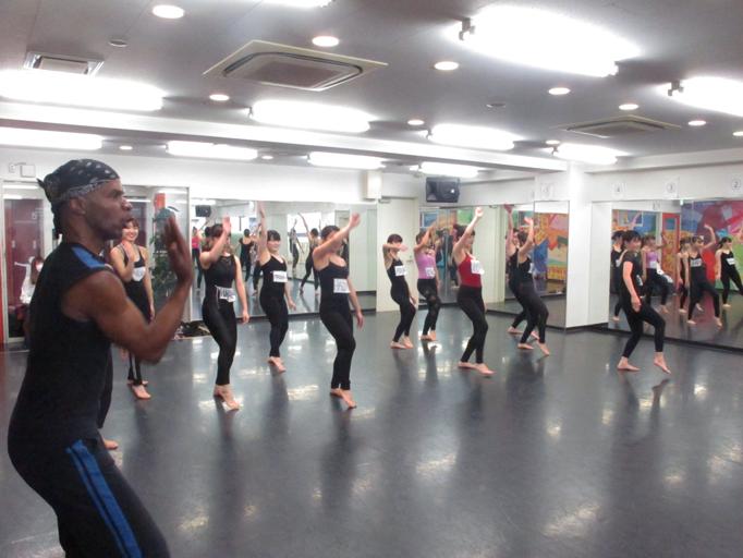 世界的ダンサーがレッスンに来てくれました!