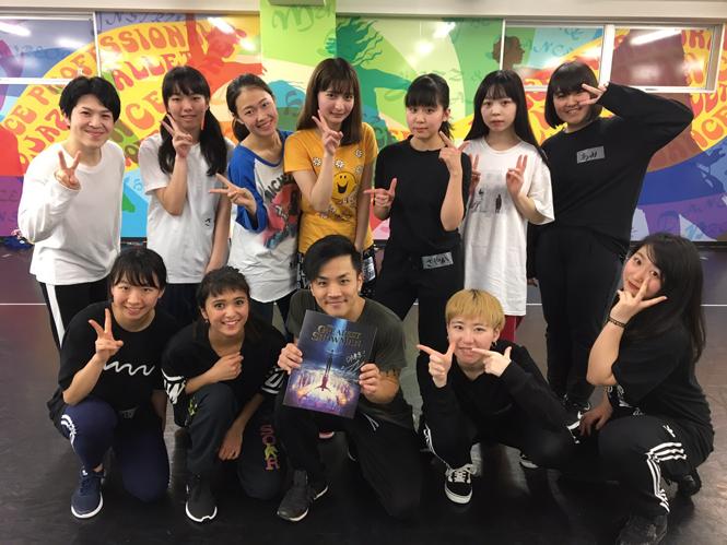 「THE GREATEST SHOWMAN」出演ダンサー Yusaku Komori先生がDA TOKYOに来てくれました!