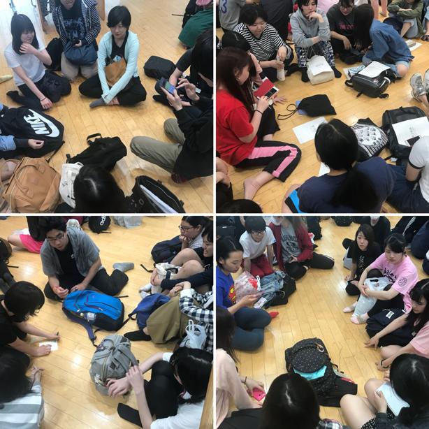 【アクターズ】渋楽祭2018ミーティング風景