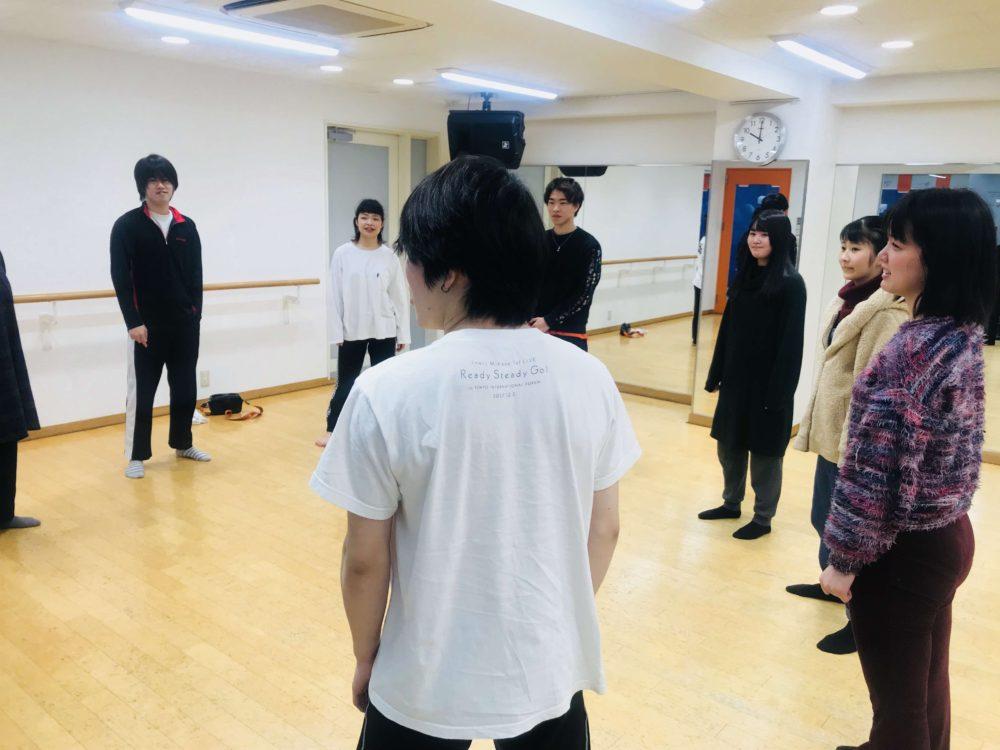 【アクター授業風景】発声・ボディートレーニング