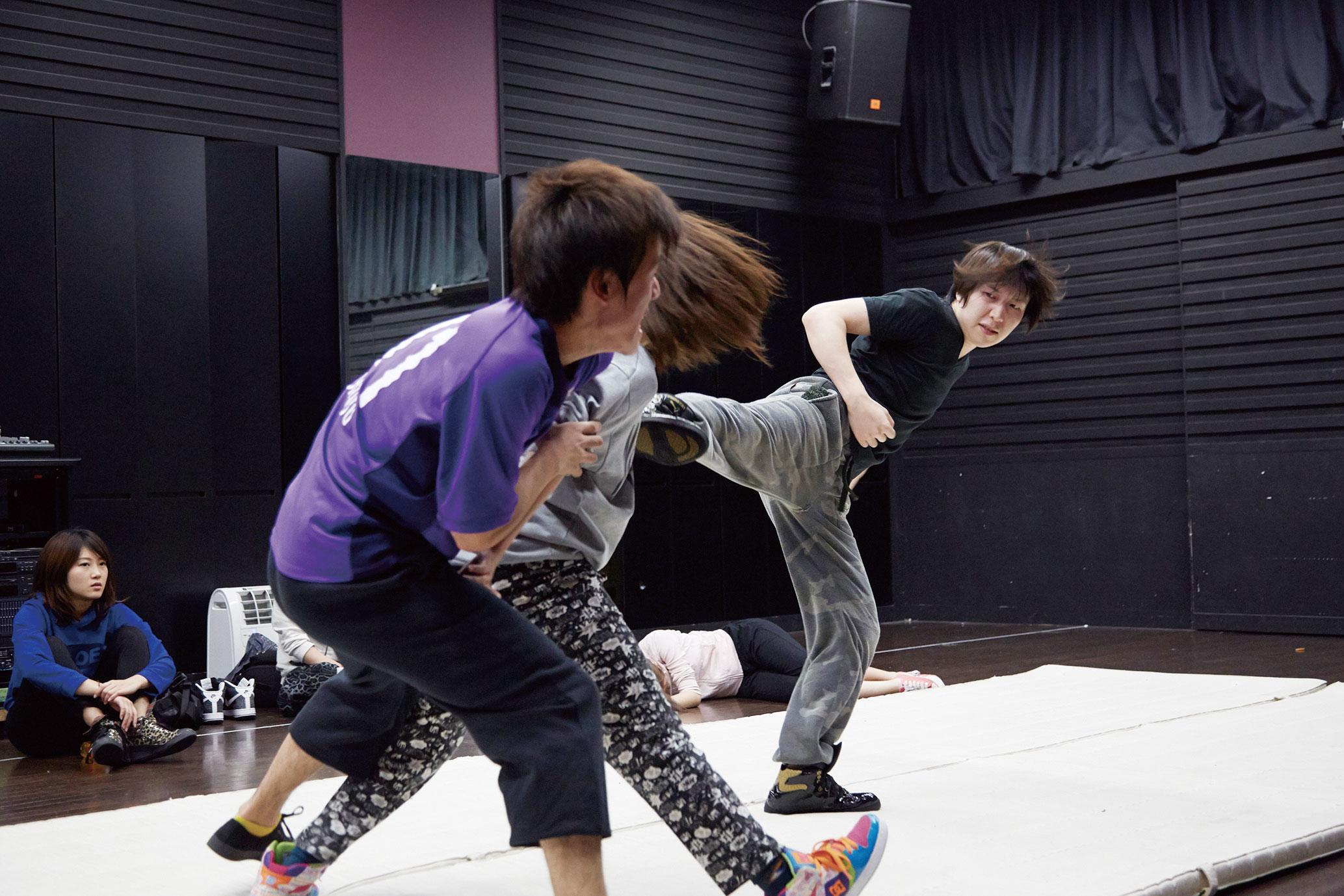 ステージアクション/殺陣/日本舞踊