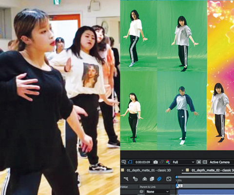 ダンス動画編集