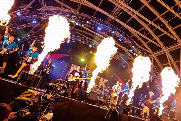 ROCK IN JAPAN FESTIVAL2016 KEYTALKバックダンサーとして在校生が出演!
