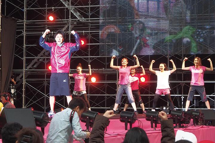 TAKAHIRO氏ダンサープロジェクト