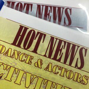 進路・出演最新ニュース「HOT NEWS」ぜひ見てください!